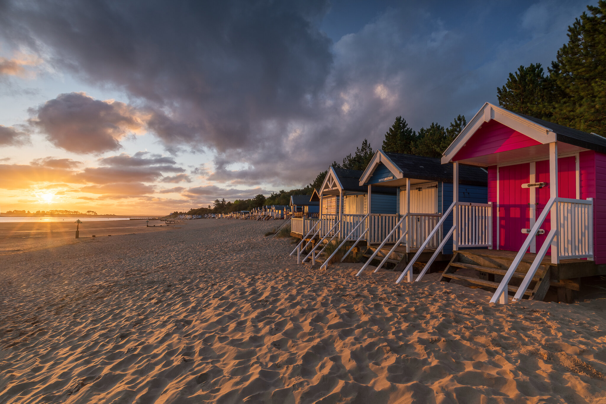Sunrise at Wells-next-the-Sea, Norfolk