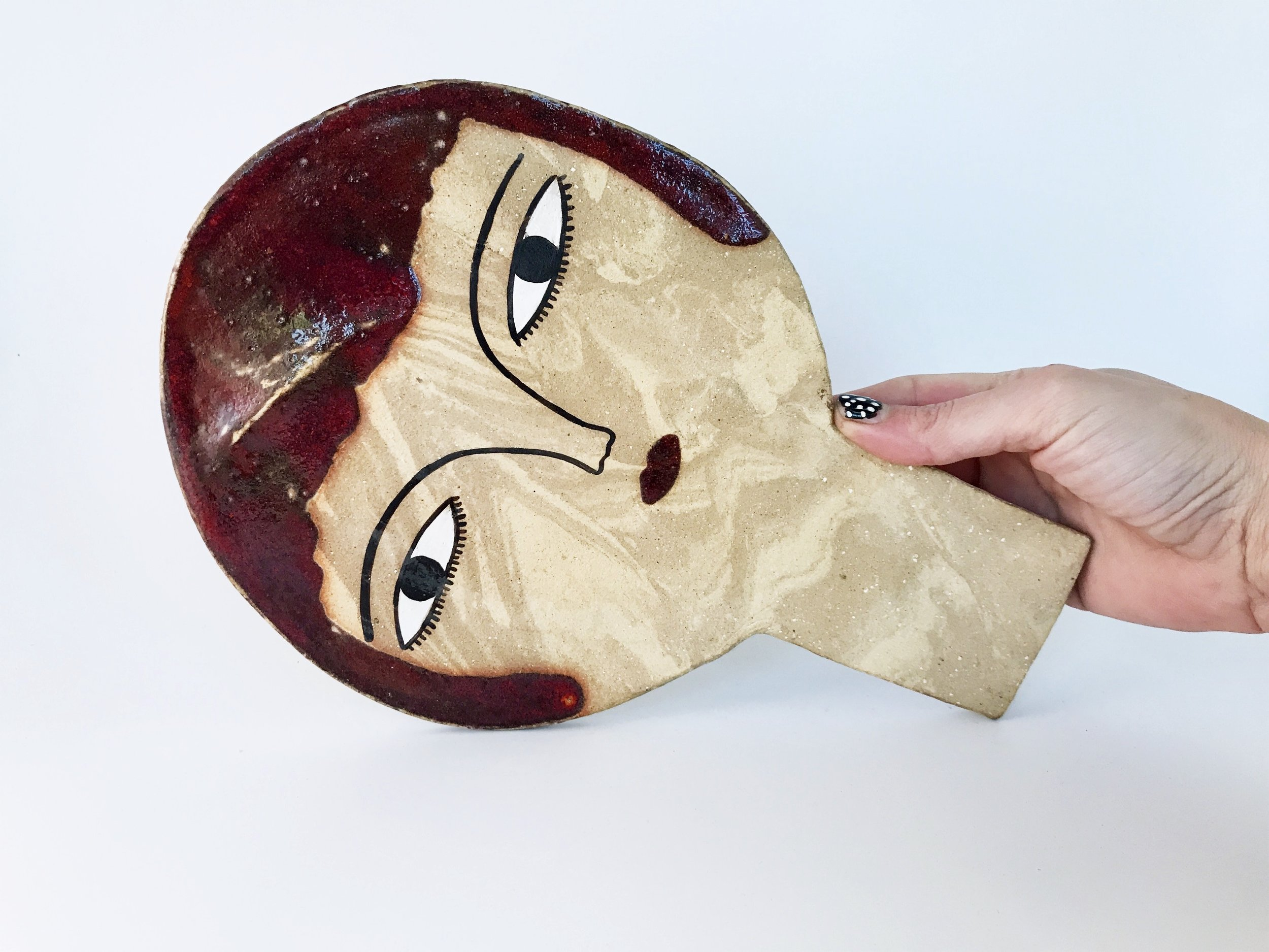Kinska + KANA LONDON - Ceramic masks