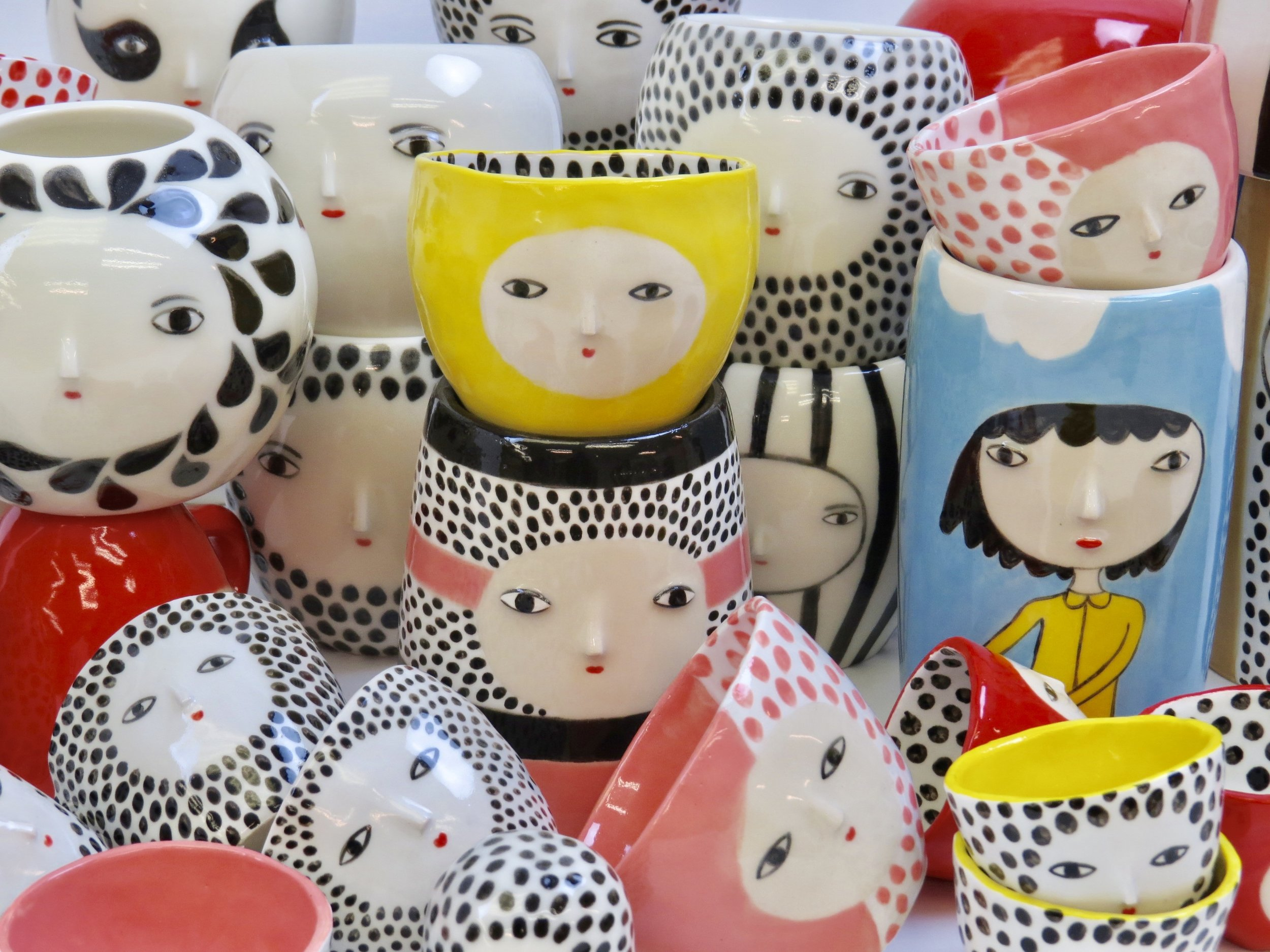 Ceramics and curiosities - One of a kind hand-crafted ceramics.