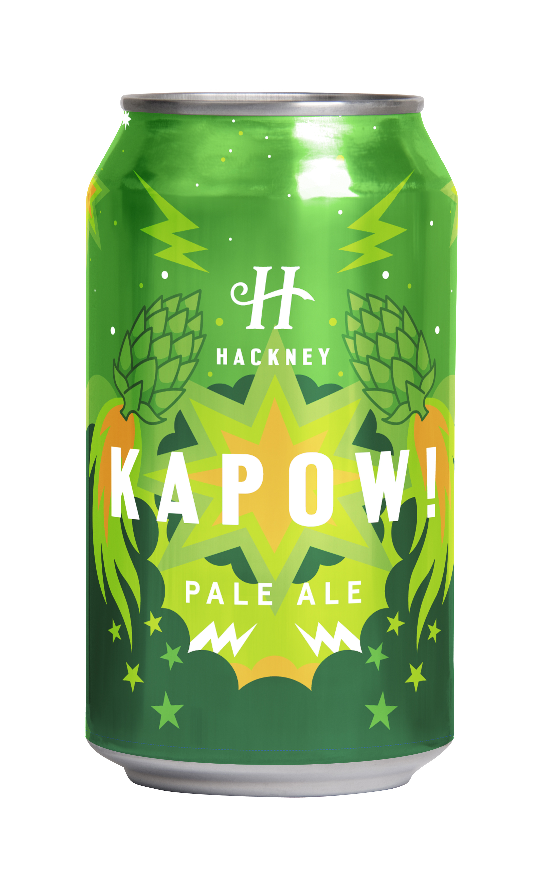KAPOW! - Nothing quite pairs up better over fireworks night than a cold fresh Kapow! This little treat of tropical fruits is a juicy, dry hopped pale ale. A superb blend of big American hops that creates a bold distinct brew. It's packed with pine, floral and pineapple hop flavours and aromas. A light malt base with a touch of dextrin malt, locks in the hop character and boost mouthfeel.Heavily dry hopped with Ekuanot, Chinook and Centennial, as soon as you crack it open it's aroma explodes to light up your senses!Don't just take our word for it try it yourself!It's available through Honest Brew.