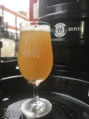 Peach and Basil Sour