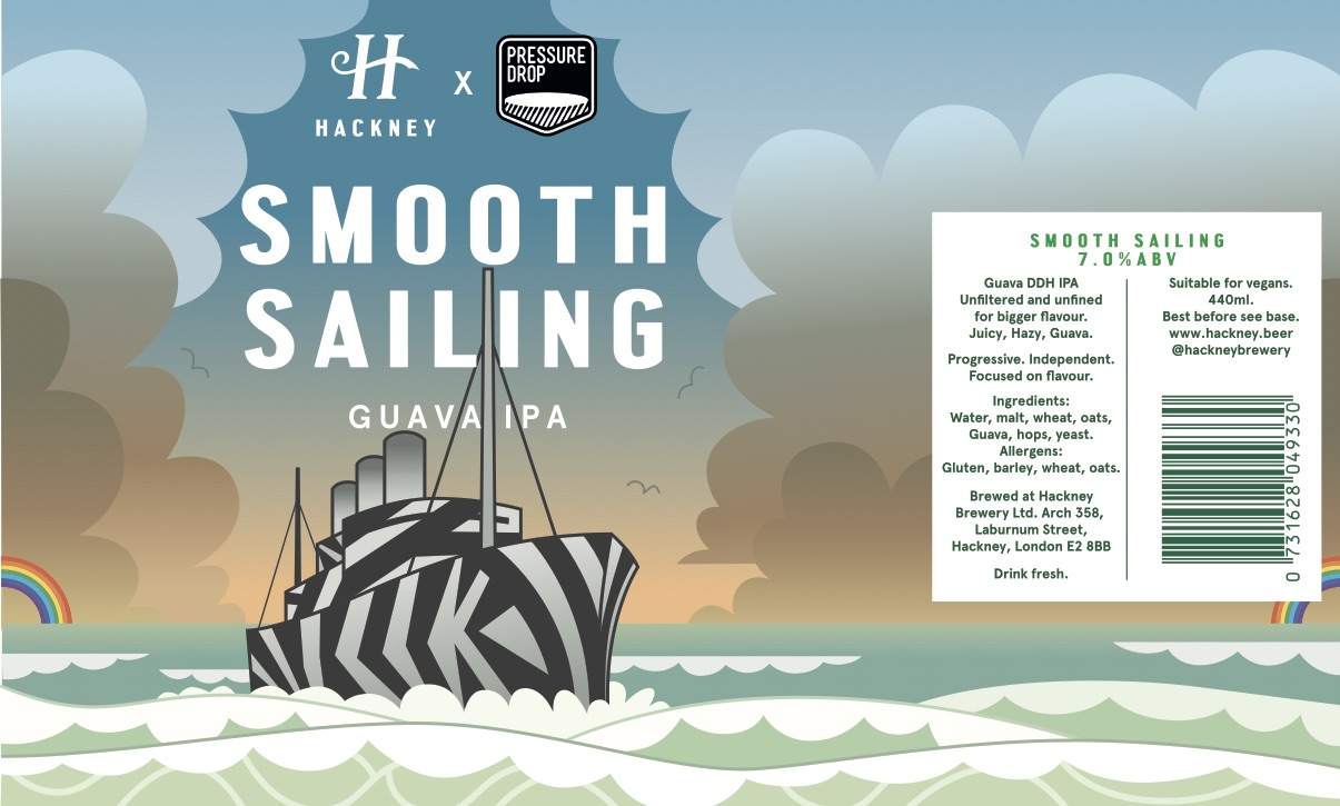 Pete Fowler's  artwork for Smooth Sailng