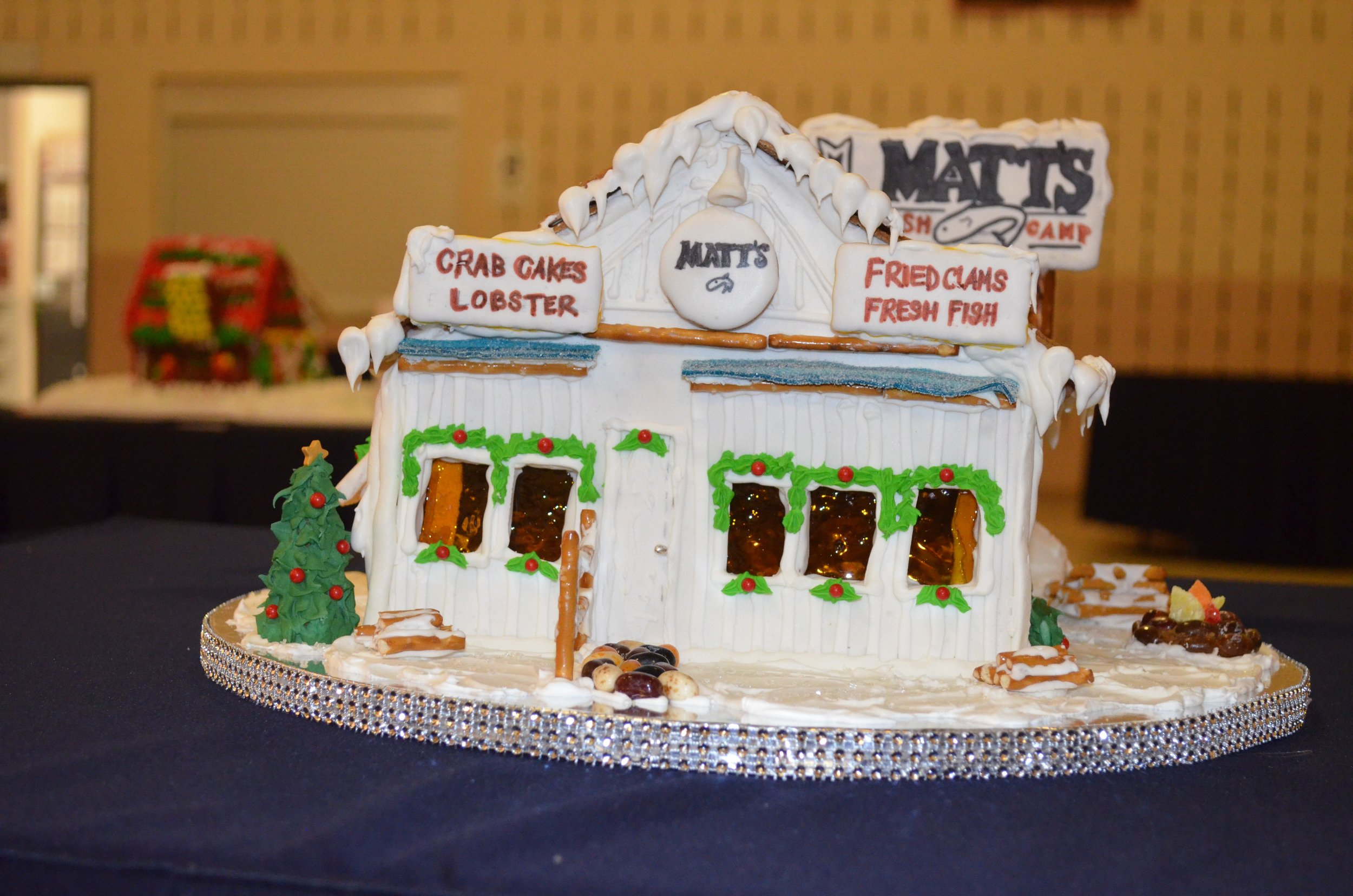 Professional Winner: Matt's Fish Camp, Lewes - Danielle Panarello, The Clubhouse at Baywood