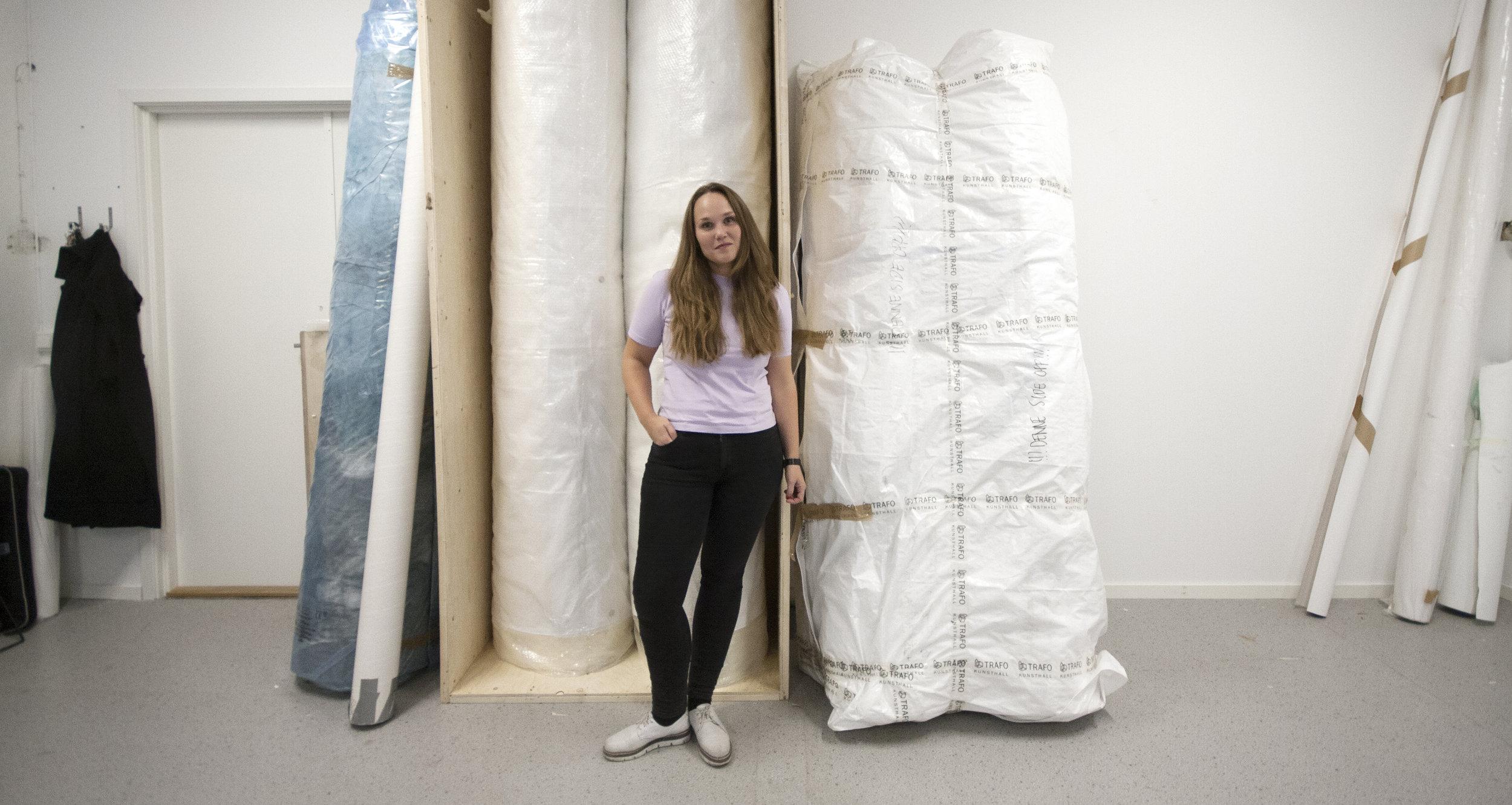 Ann Iren Buan, skulptur og installasjon ©  Foto: Kari Tønseth / BONO