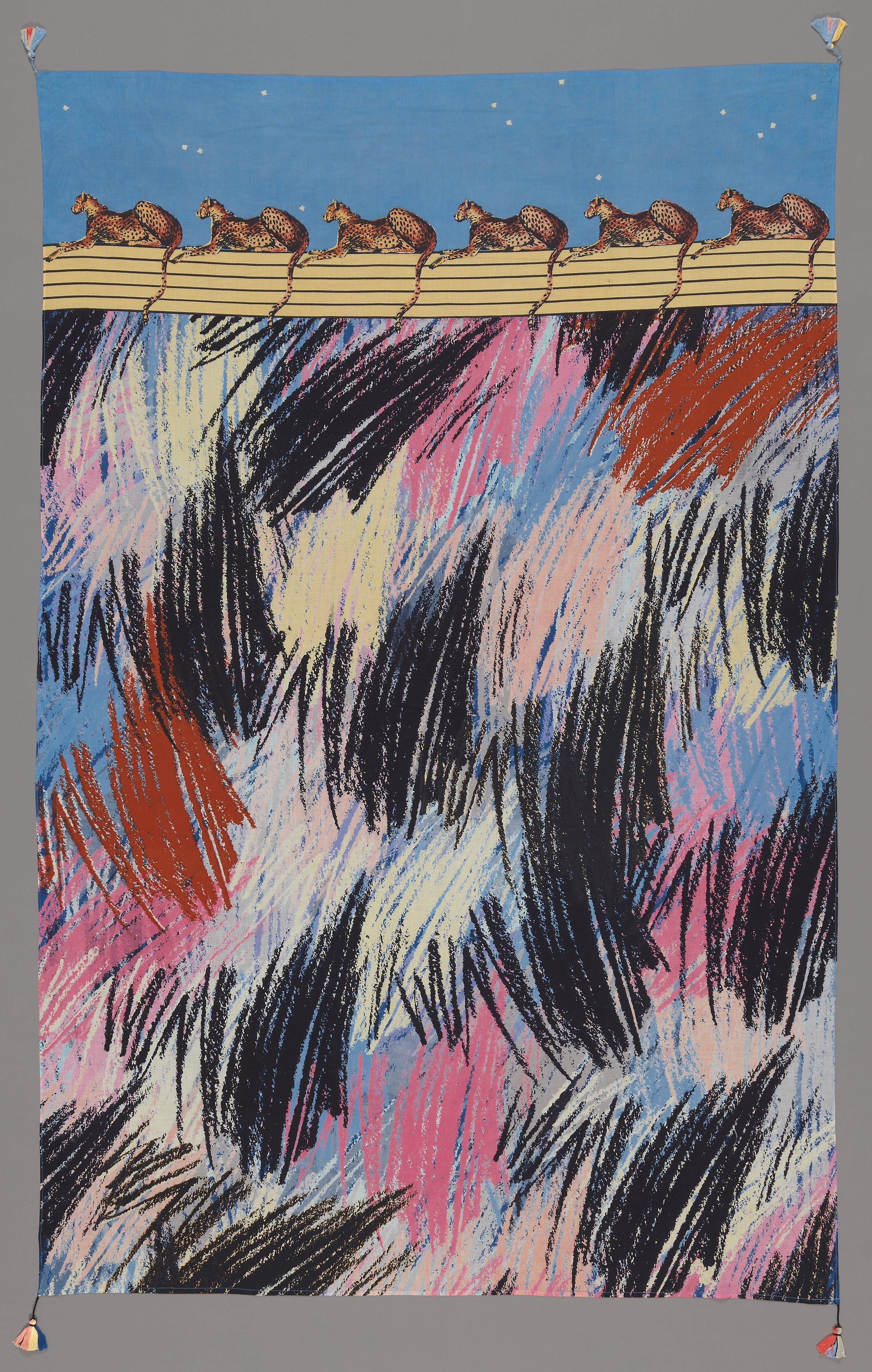 Tone Saastad, Gepardene, 1983 © Tone Saastad / BONO Foto: Nasjonalmuseet