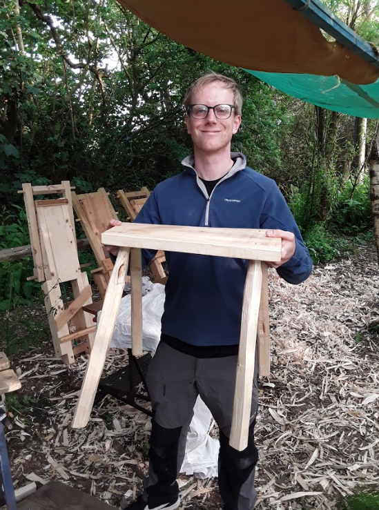 - I really enjoyed the stool making course with Turning Hare Woodcraft. Steve and Bob were both excellent and patient tutors too. Highly recommended. - Rory. June 2019