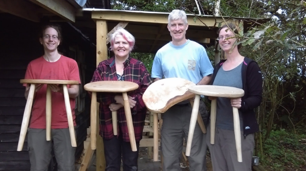 No blisters! - Great fun, great group of people, expert advice and great range of tools we learnt to use. Love my stool, can't believe I managed to make it in two days and with no blisters. Have been recommending this course to all my friends as a great break from everyday life in a lovely setting.Constance, 2017