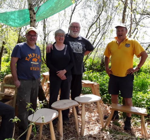 Challenge yourselves! - I think Frank, my husband thought I'd gone mad when I gave him a two day course to make a stool as a Christmas present! After two days spent with Steve and Bob, not forgetting Claire's delicious lunches, we are very proud of our rustic stools. Go and challenge yourselves, you'll have a great time!Jan 2018