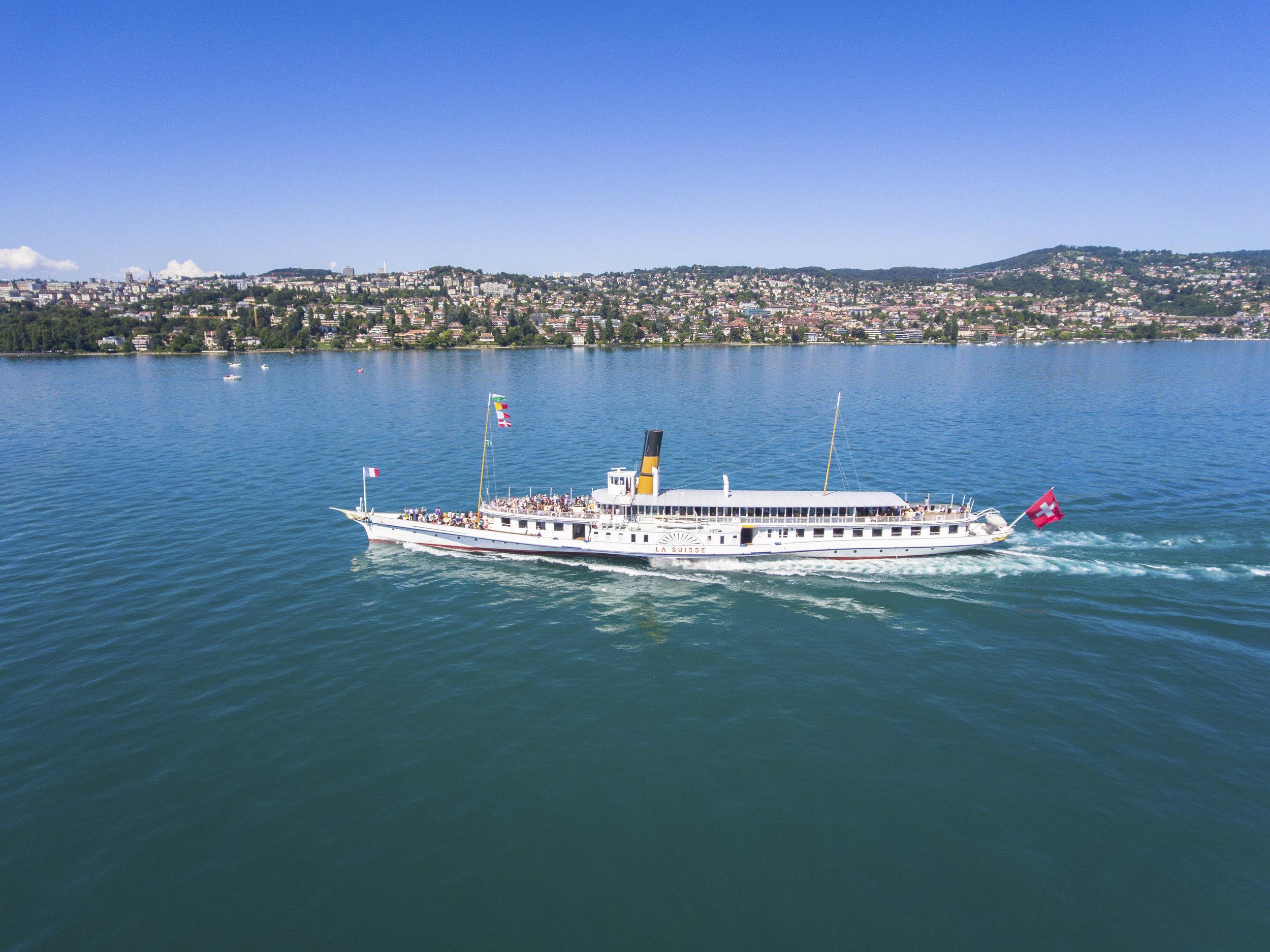 Lac Léman / Lake Geneva steamboat
