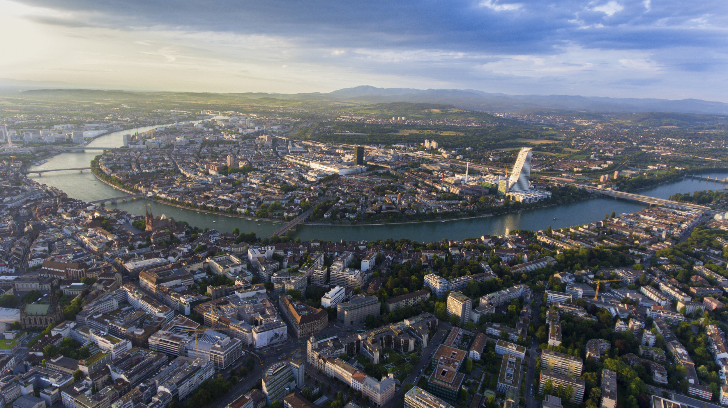 Rhine crossing Basel City