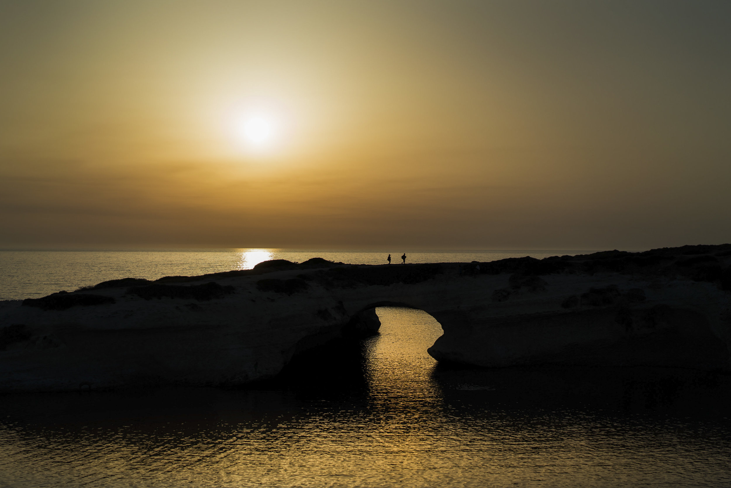 S'Archittu sunset - Sardinia