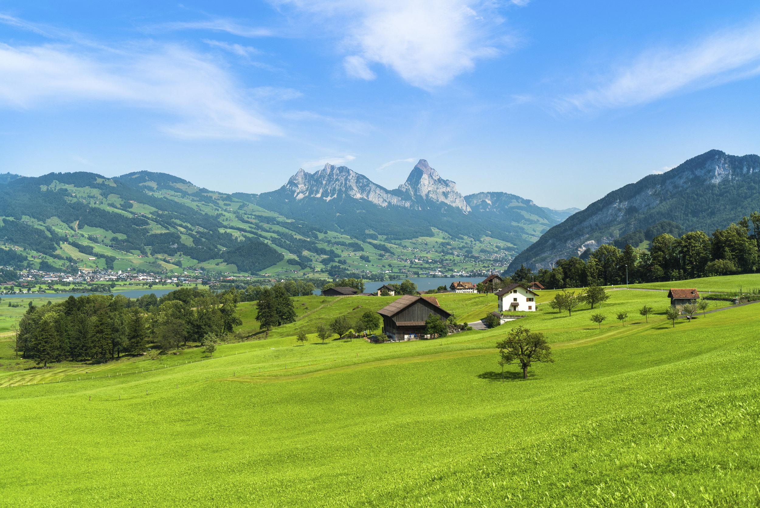 Goldau & Grosser Mythen - Switzerland