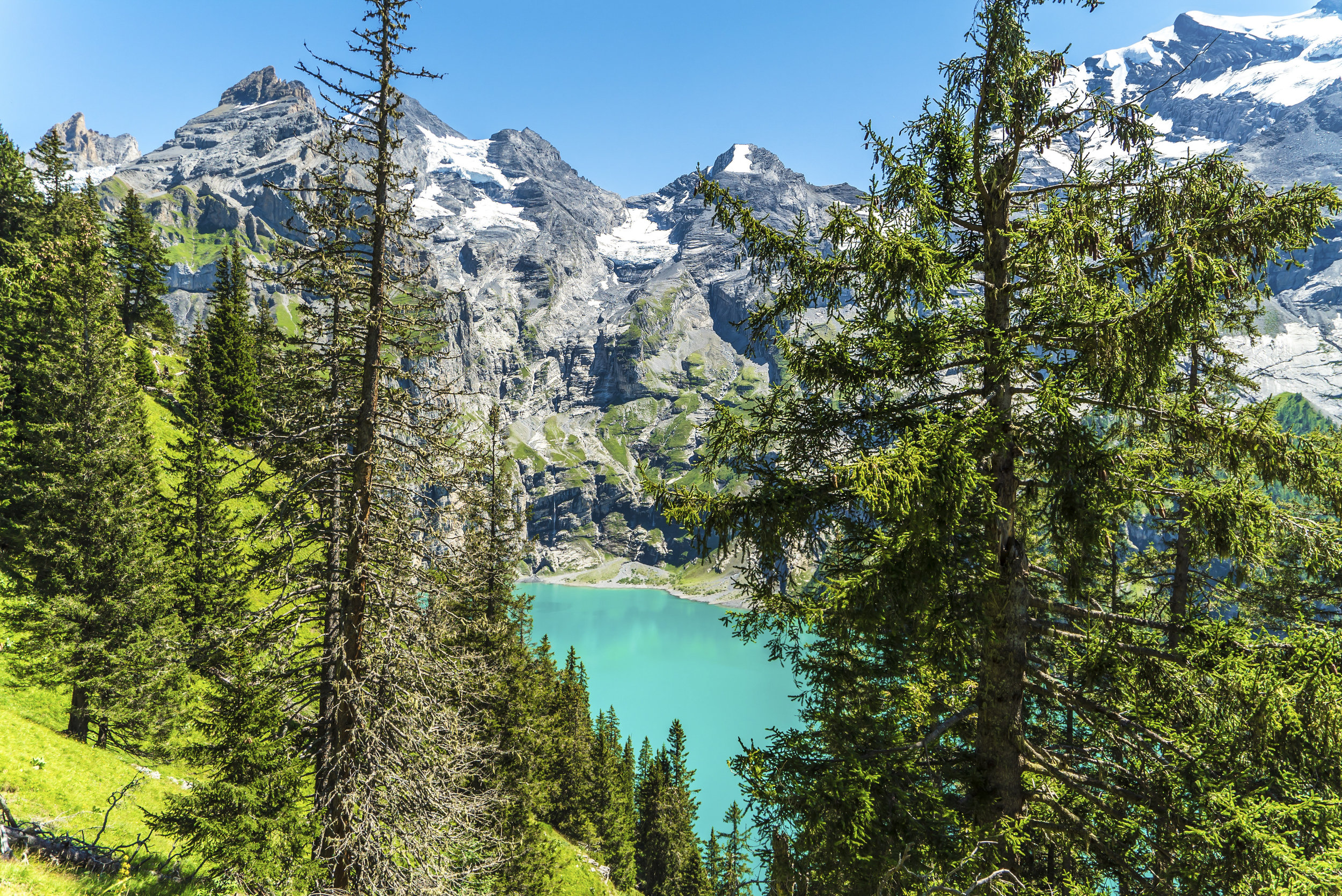 Oeschinensee nature - Switzerland