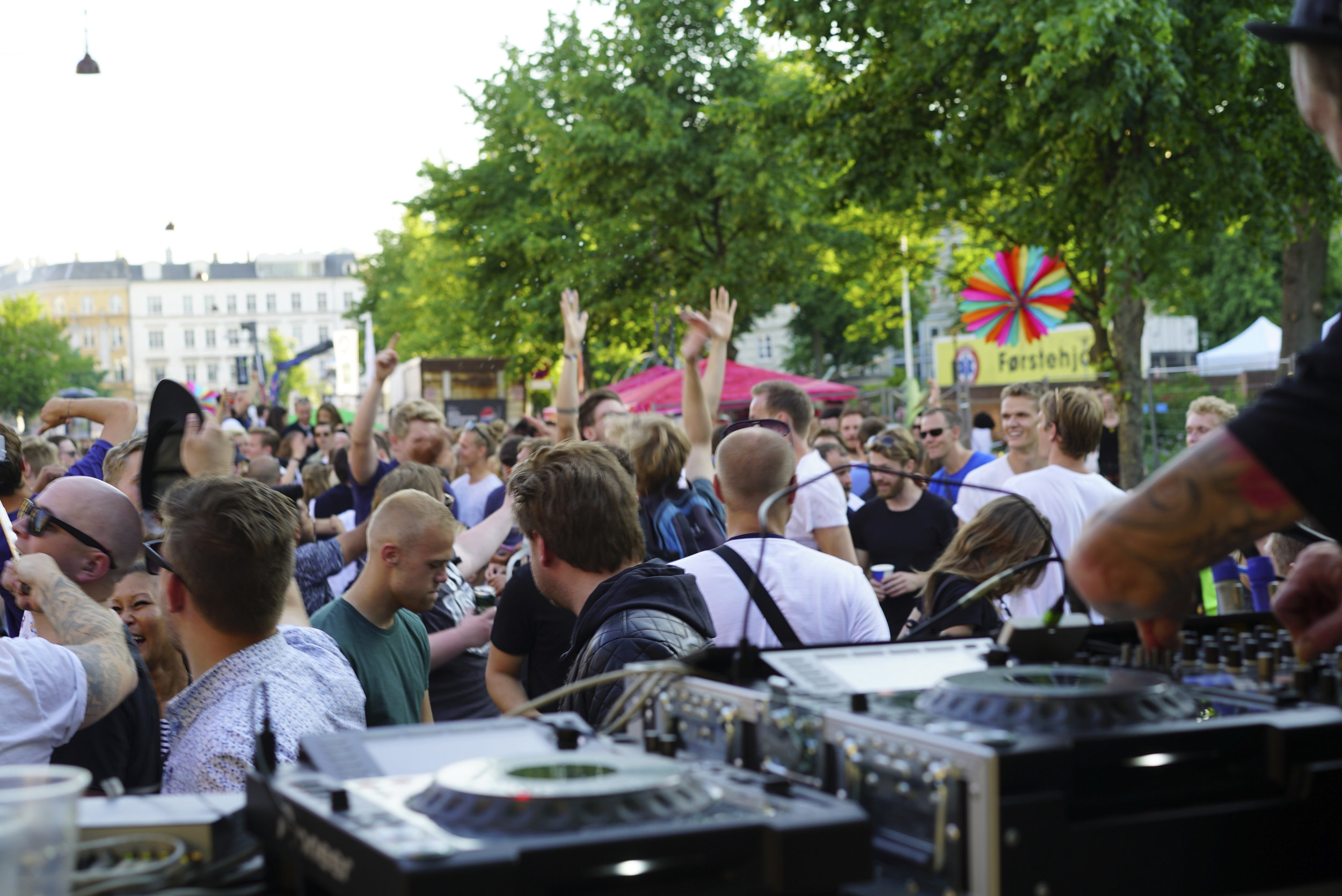 Nørrebro Distorion view from the stage