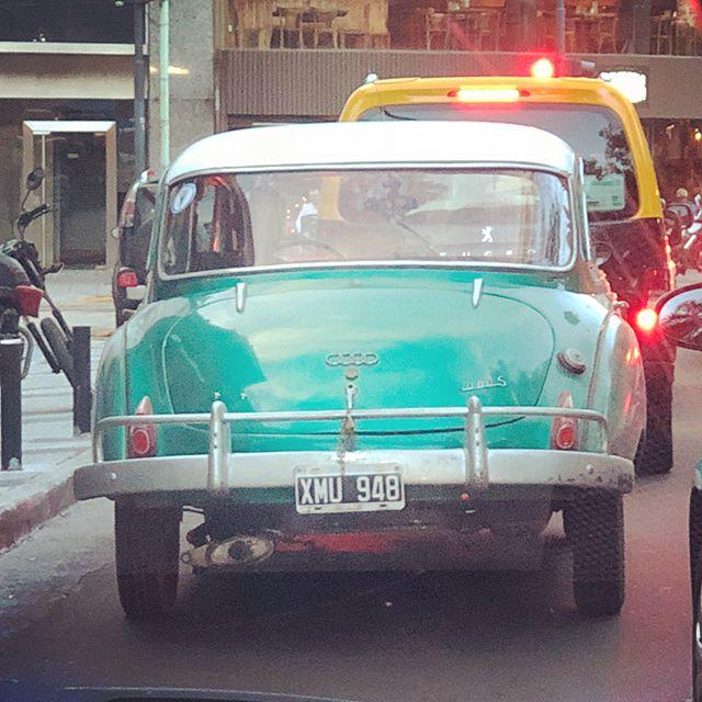 Rare #autounion 1000S de Luxe seen in Buenos Aires last week  #audi  #rarecars  #buenosaires  #recoleta  #carsofinstagram  #vintagecar
