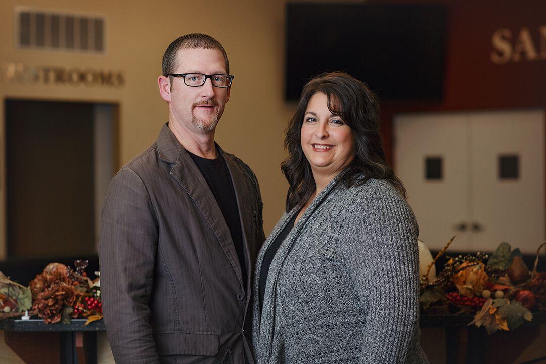 Senior Pastors  Trevis & Jennifer Pinkston