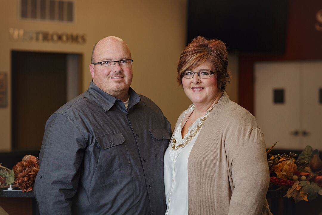 Associate Pastors  Keith and Amy Vernelson