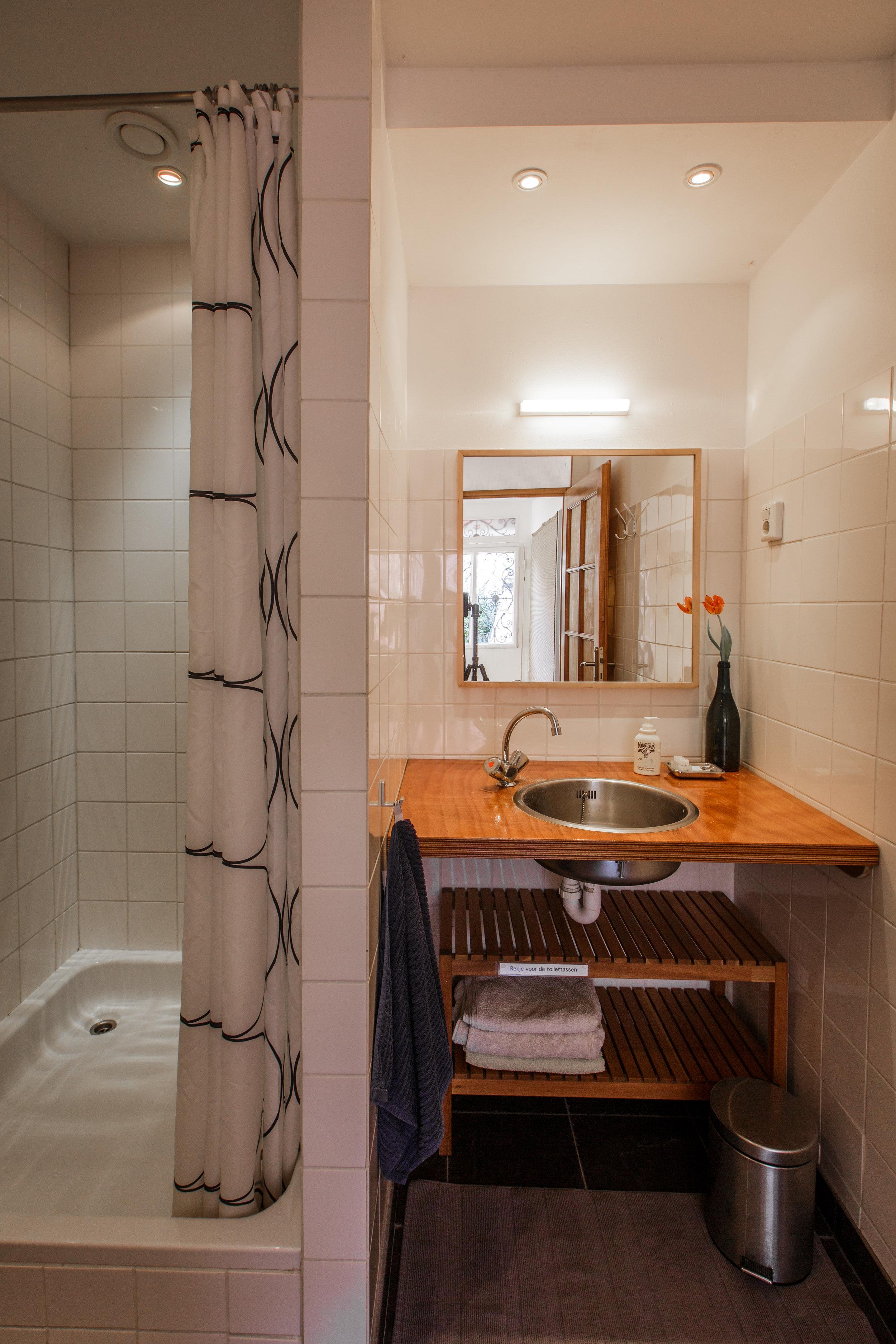Achterhuis: Badkamer