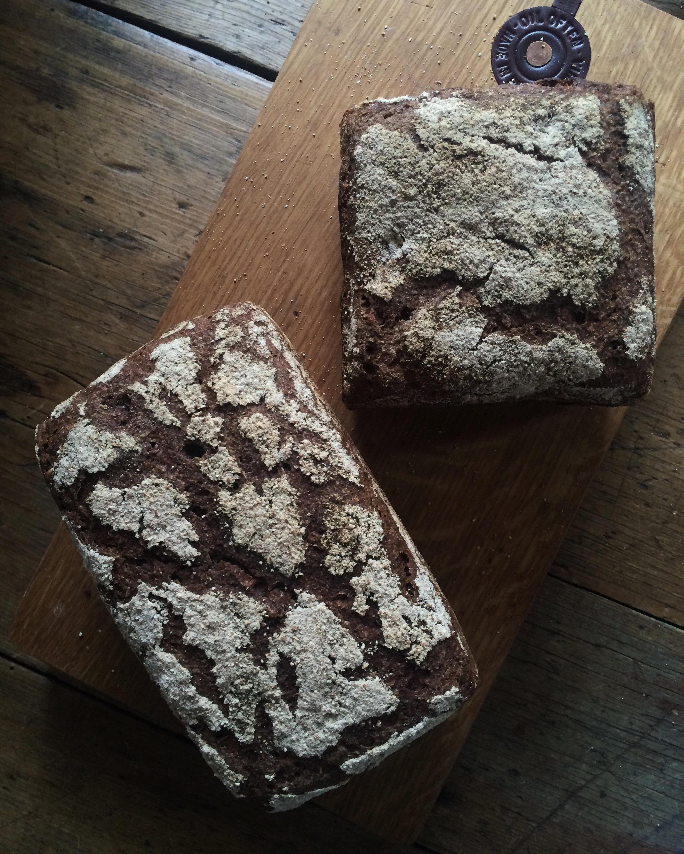 Rye Spelt Loaf, one of Katrina's favourite.