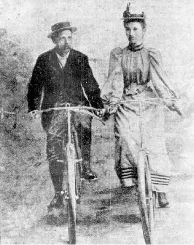 Sarah Maddock and Ernest Maddock.