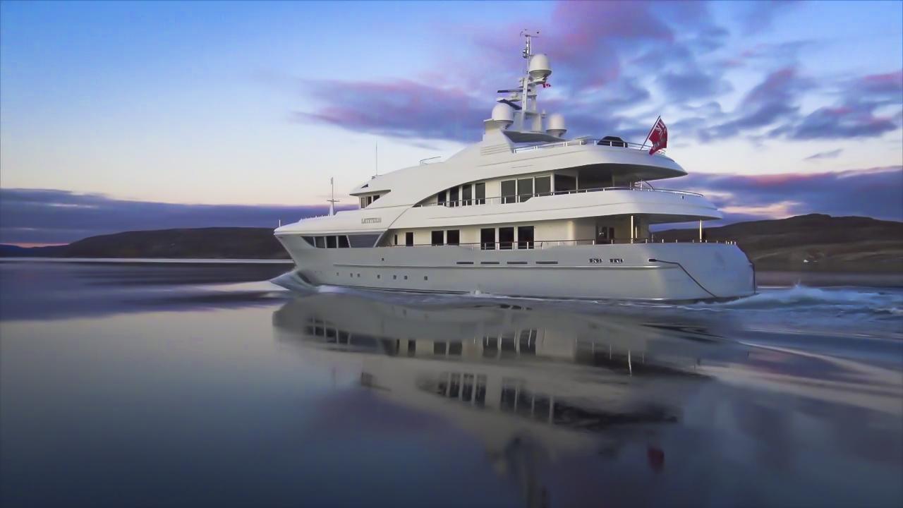 luxury yacht films super yacht videographer shelton du preez motoryacht latitude