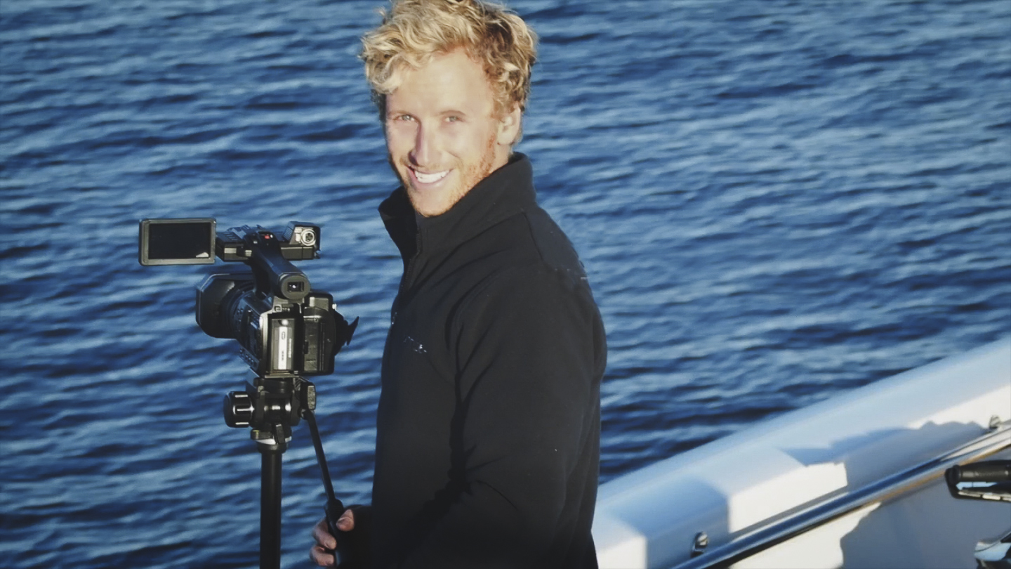 """Filming for """" The Northwest Passage"""""""
