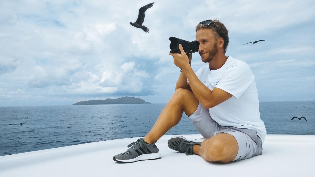Luxury yacht films super yacht videographer shelton dupreez