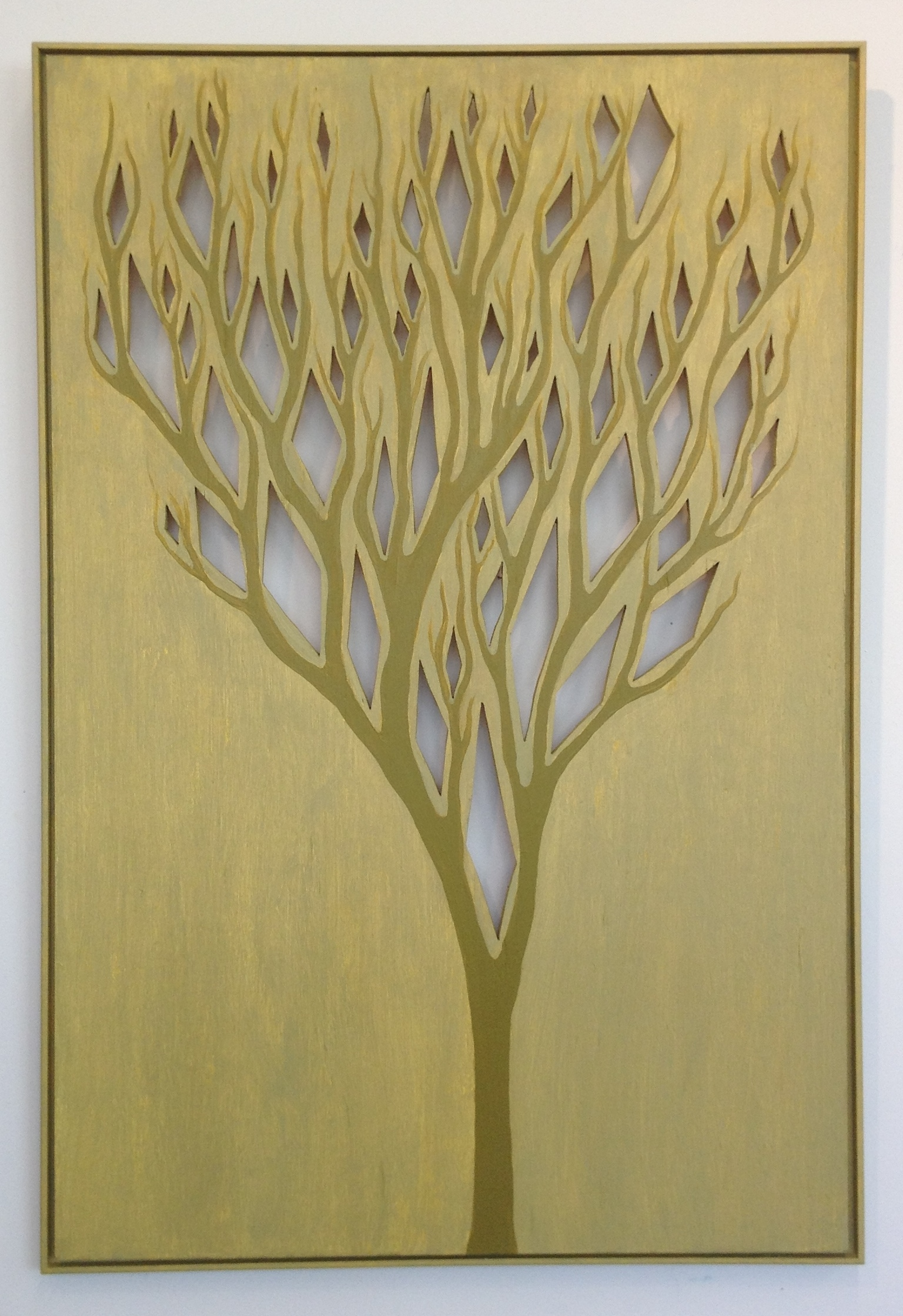 Tree With Diamonds