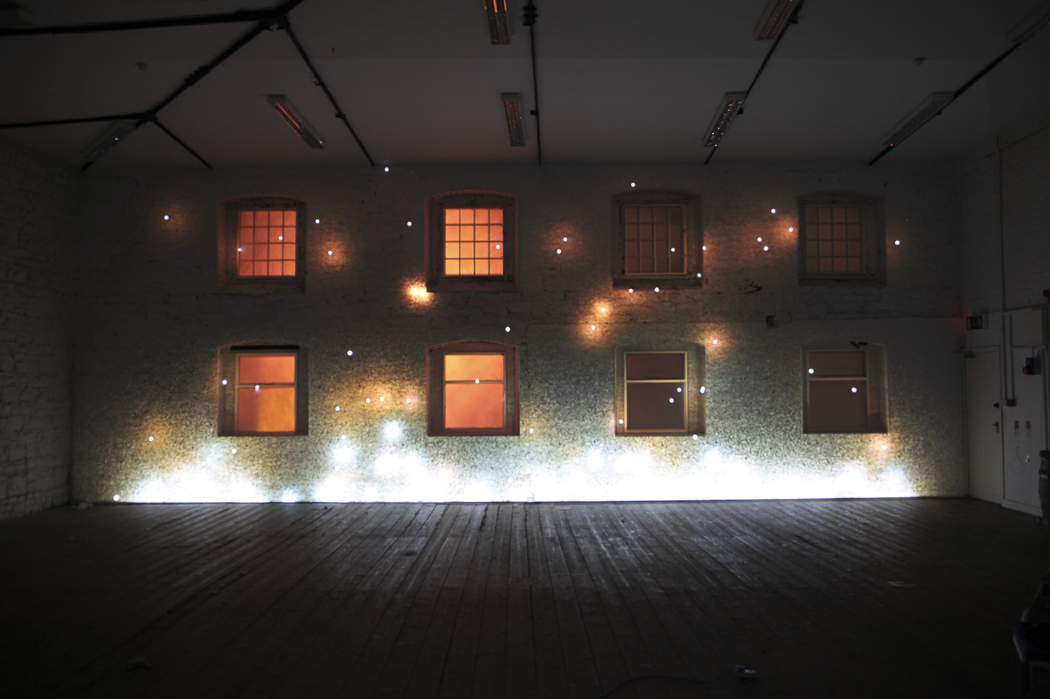 In Dublin Ireland a Projection mapping project using 3D and 2D motion graphics