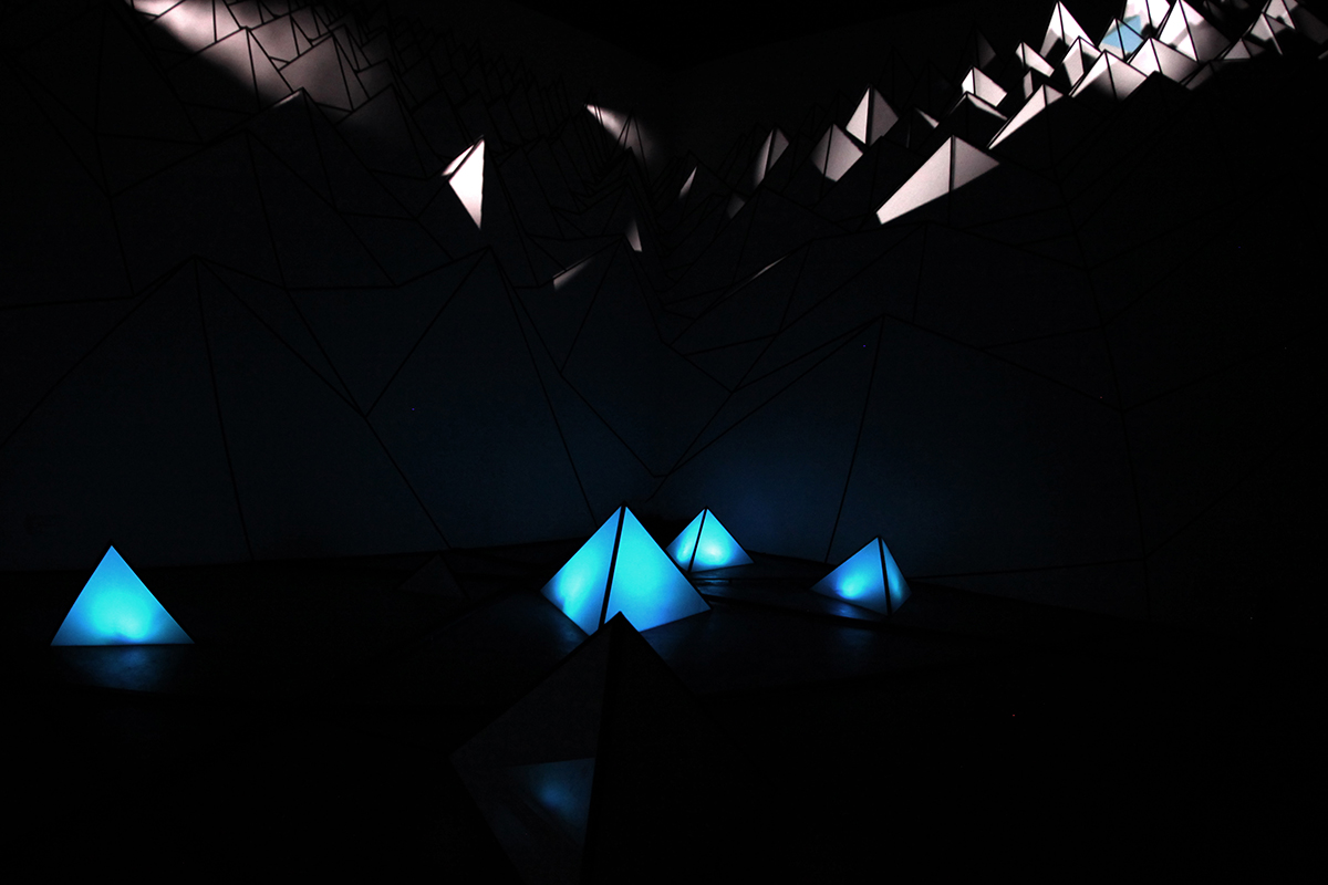 Projection mapping video installation using cutting edge technology, in Galway Ireland