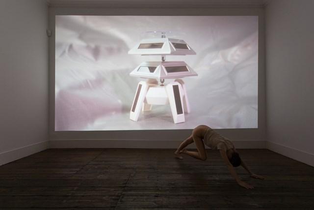 "28 July 2016 -  Performer for Anna Franceschini's solo exhibition,  ""in lieu of a liane"",  atVera Cortes Gallery, Lisbon"
