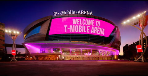 T-MOBILE ARENA - $375M BUDGET // COMPLETED 2016