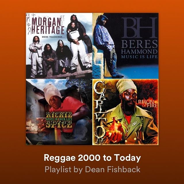 Check out my Spotify Reggae playlists and enjoy all these Hits from the 21st Century!!