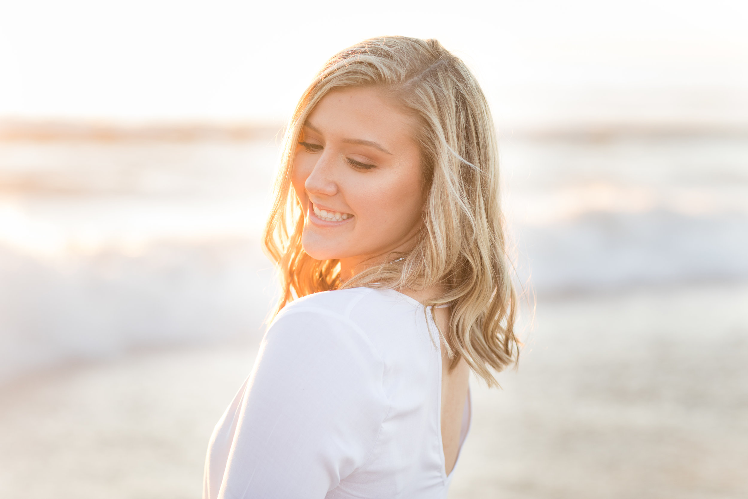 manhattan beach senior portraits