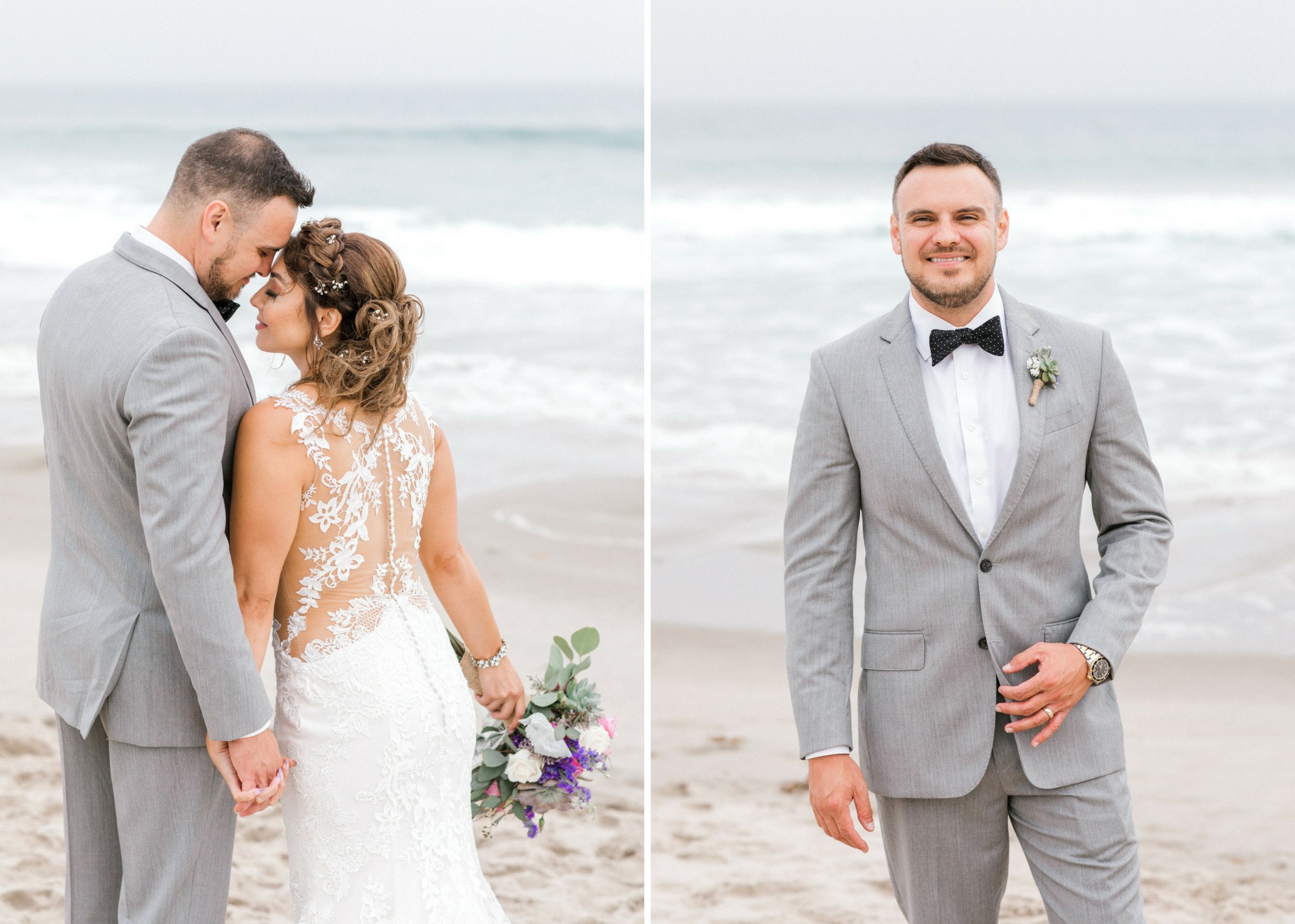 Los Angeles Malibu Beach Boho South Bay Wedding