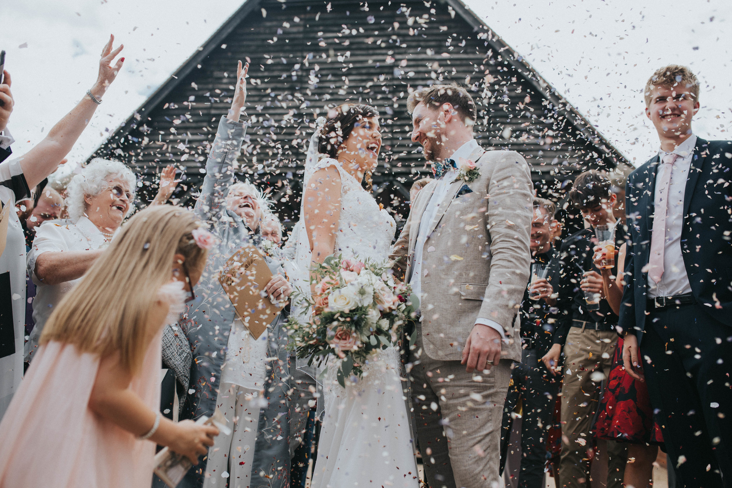 Fun and creative wedding photographer East Sussex