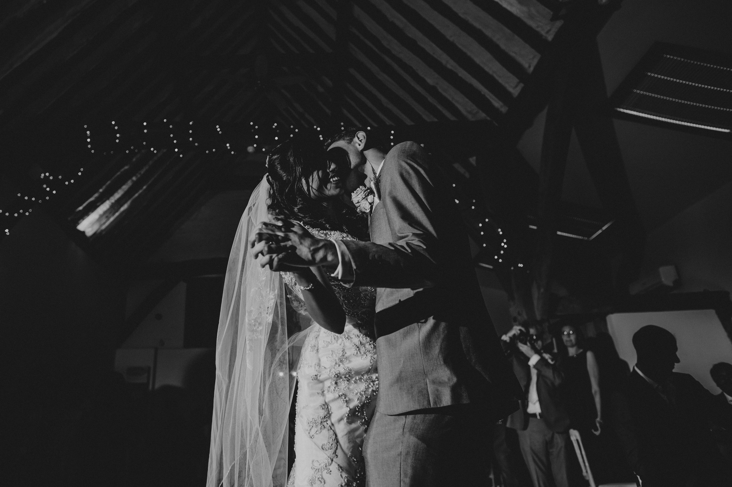 first dance at winters barns