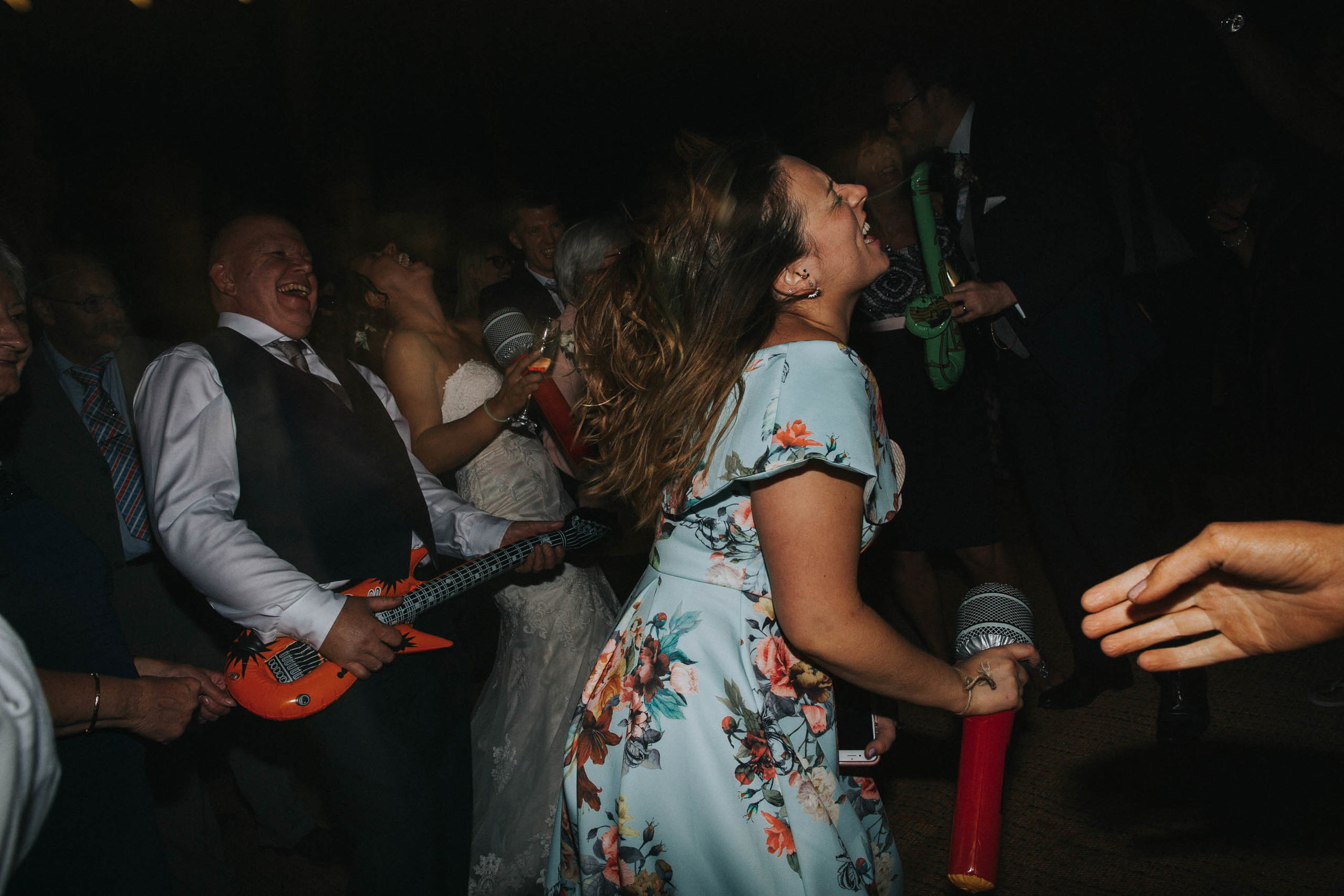 dance floor wedding photography