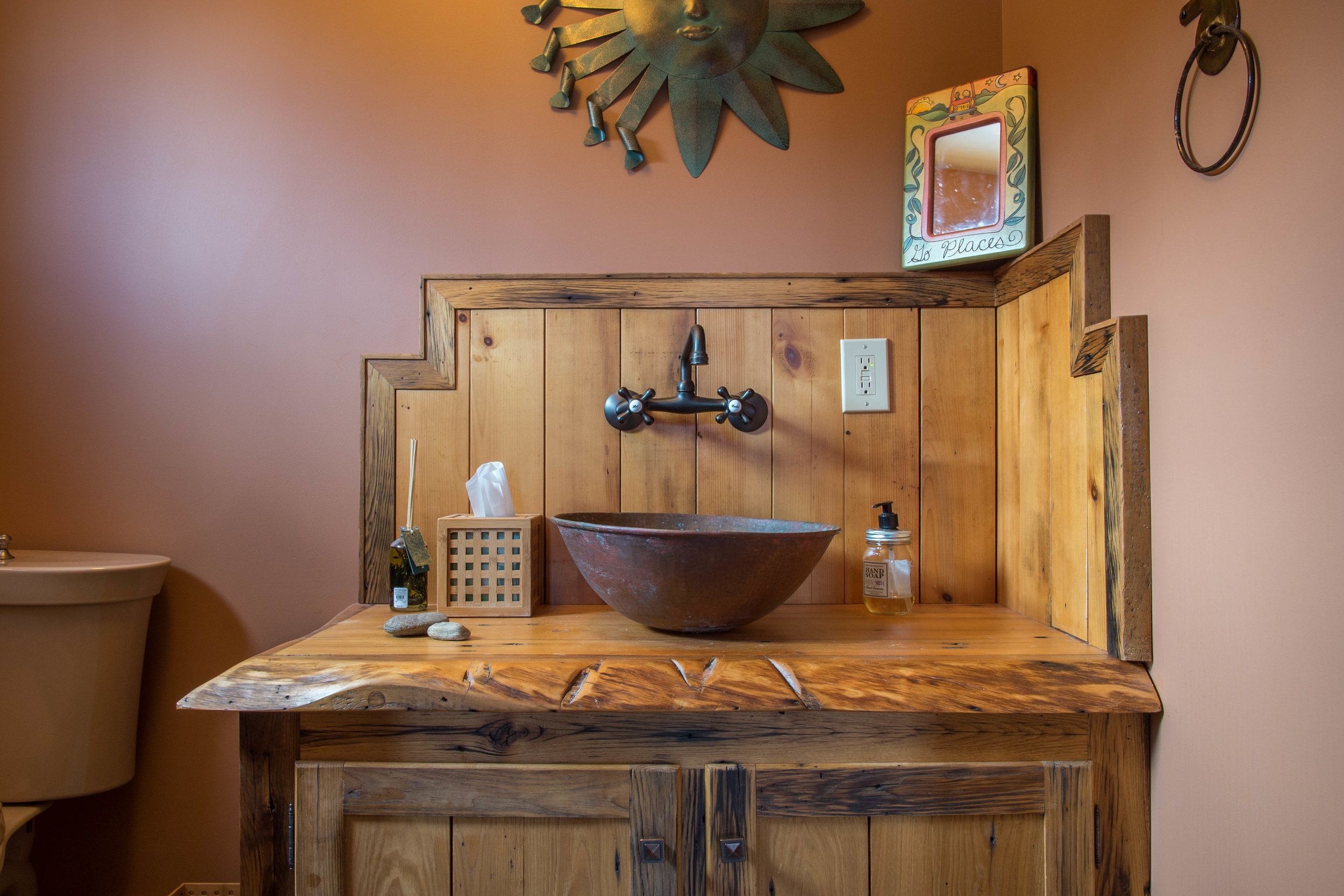 Rustic Designer Bathroom photo