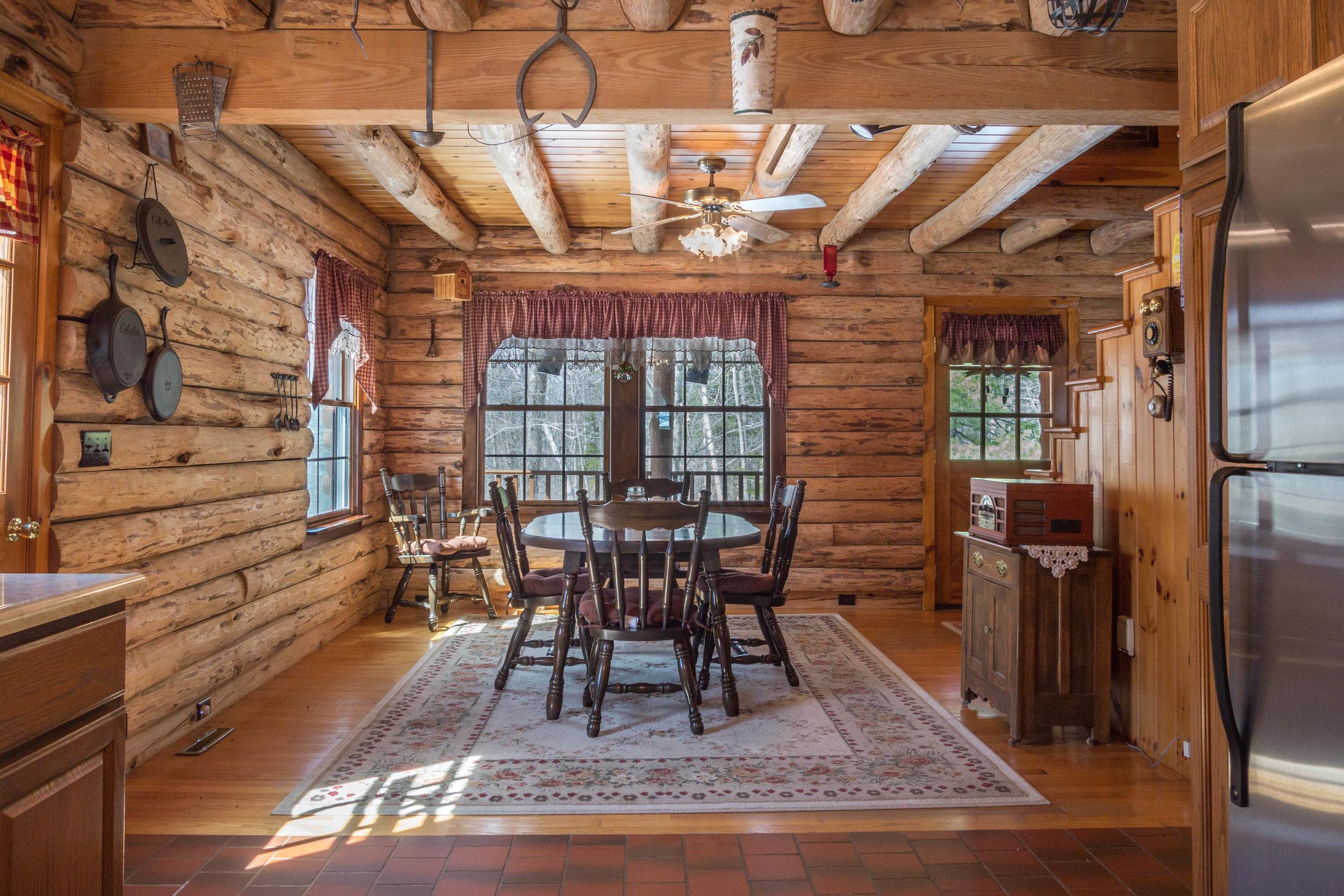Rustic Cabin Dining Room