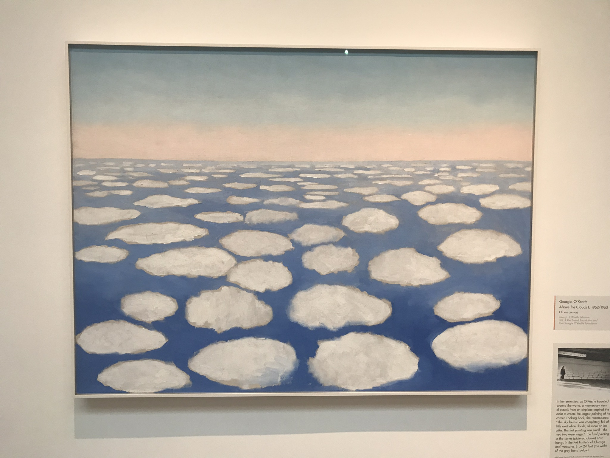 Above the Clouds 1 - Georgia O'Keeffe
