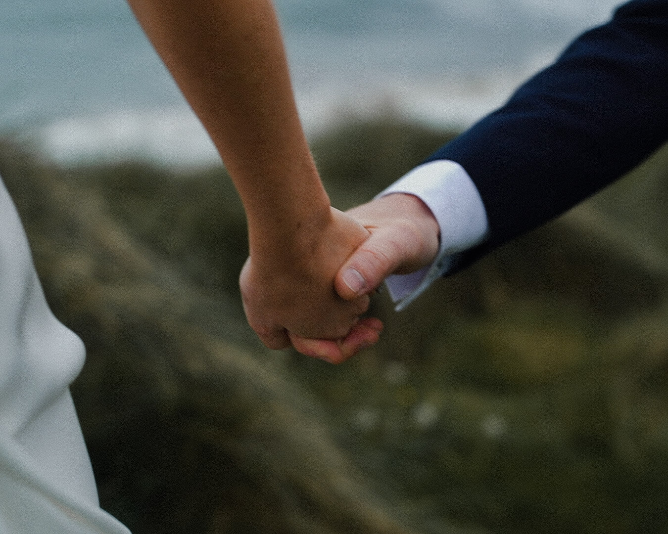 Wild Atlantic way, intimate couple