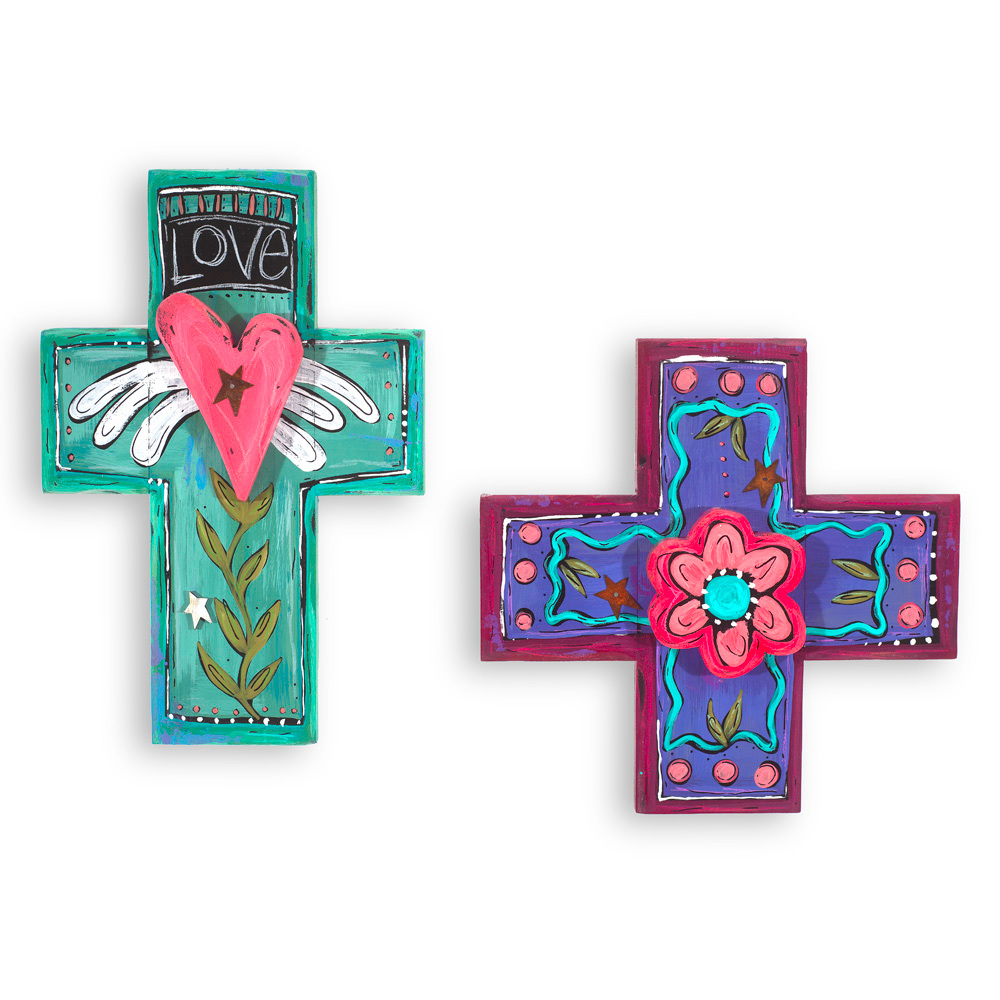 Small and Large Cross CR01 CR02
