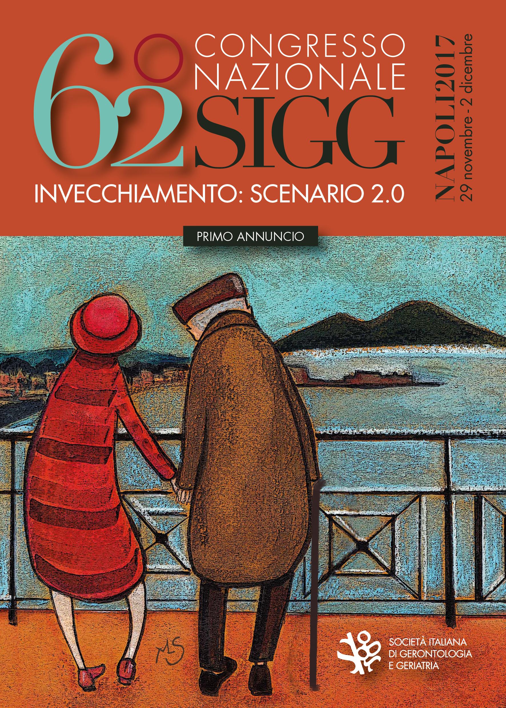 Grafica coordinata congresso nazionale Società Italiana di Gerontologia e Geriatria