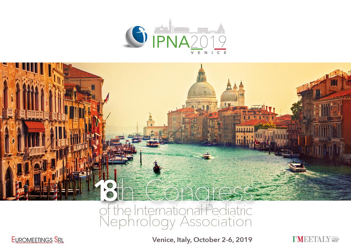 Grafica coordinata congresso International Pediatric Nephrology Association