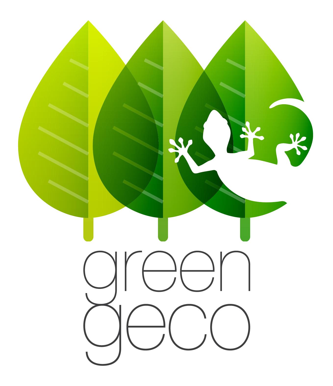 Logo e coordinato aziendale Green Geco
