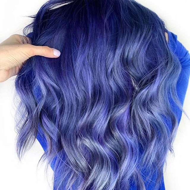 You can't change everything about you and that's what make you unique, but you definitely can change the color of your hair! Go for it!!!! Hair by @a.b.hair on this beauty ! #purplehair #bluehair #silverhair #longhair #wavyhair #torontohair #hairoftheday #hairofinsta #instahair