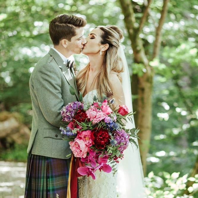 Cora Anderson Floristry // Lynne + Kevin // Photo by: Tandem Photo