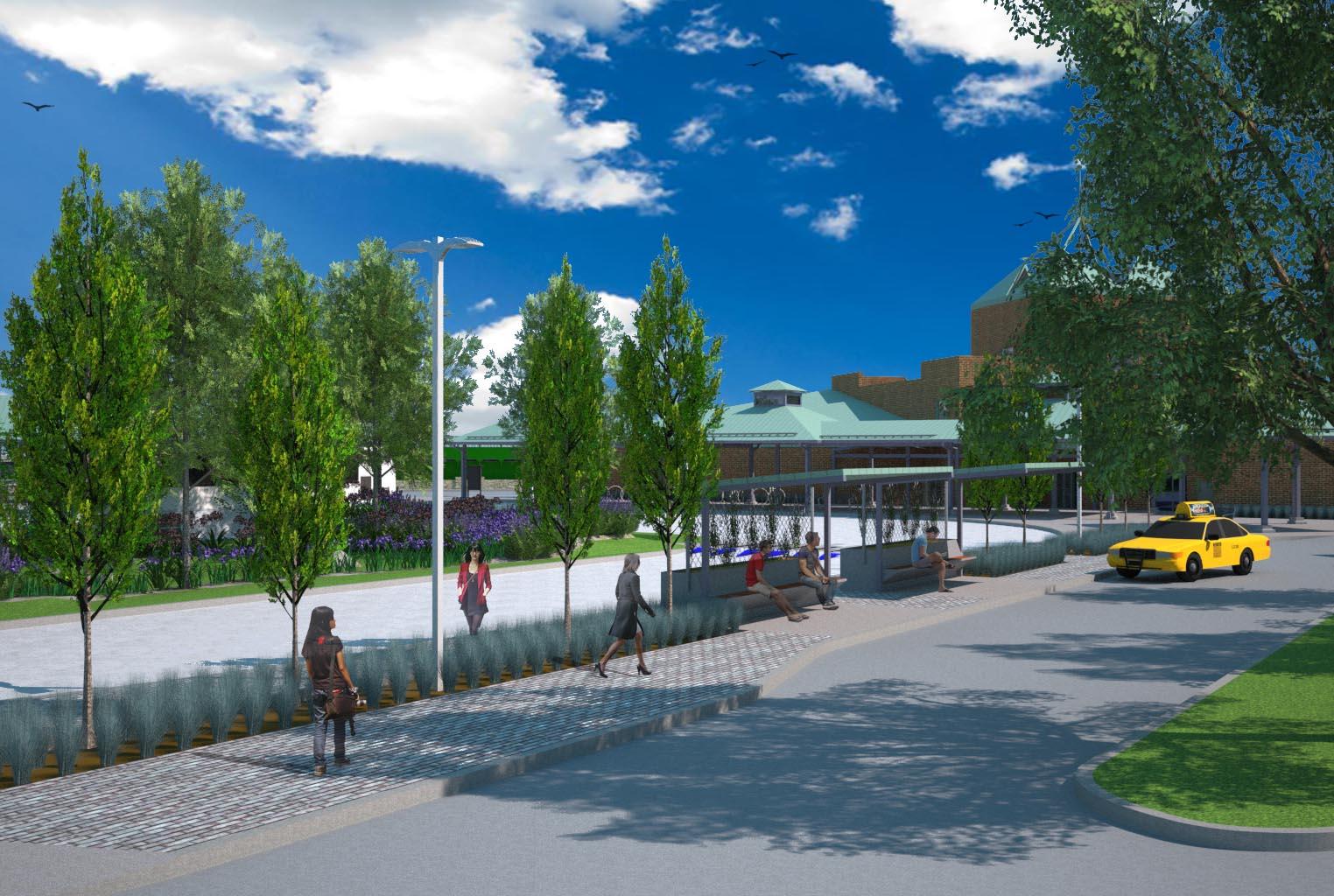 Newport Transportation & Visitors Center