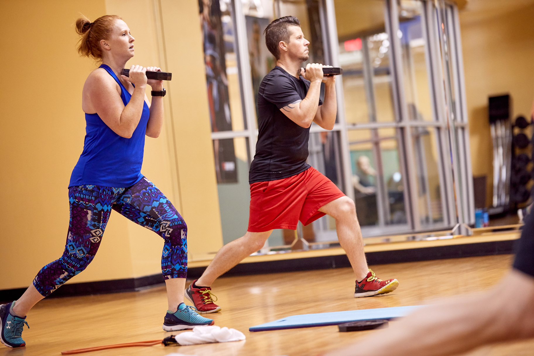 Cardio Combo - High energy athletic workout using interval training to maximize cardio output while also building strength and endurance. See Schedule →